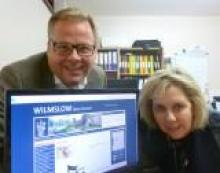 Cllrs Mark Goldsmith and Angela McPake